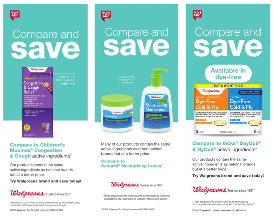 Walgreens Elevates Private Labels Compared To National Brands Rise
