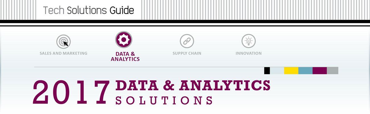 2017 Data & Analytics Technology Solutions Guide Hero Image
