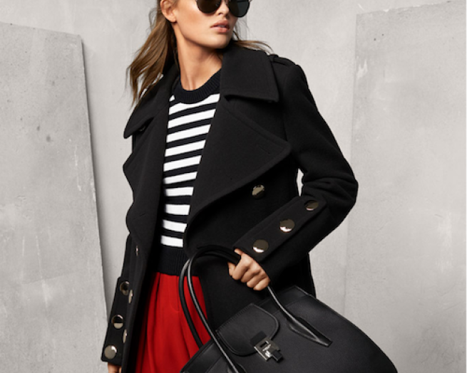 Michael Kors 2017 Bancroft black and white collection