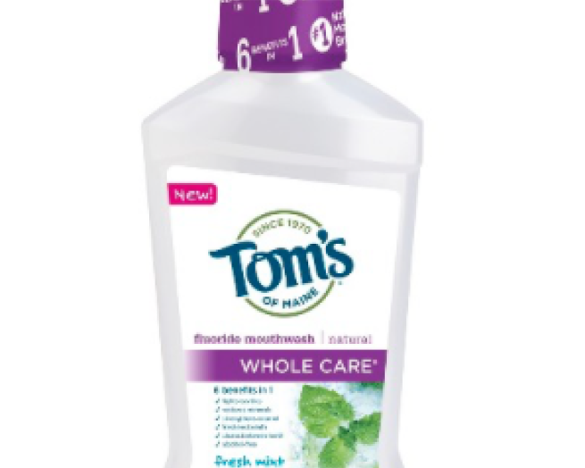 Tom's Whole Care Mouthwash