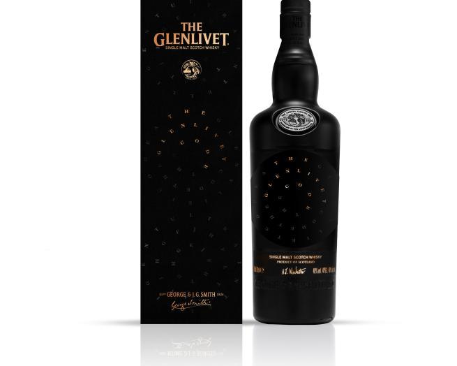 Glenlivet Code packaging