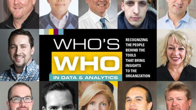 Who's Who in Data & Analytics