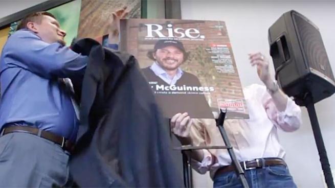 Rise magazine unveiling