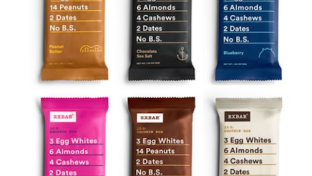 RXBAR sample pack, acquired by Kellogg