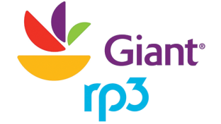Giant and rp3 logos