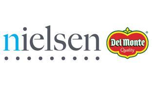 Nielsen and Del Monte logos
