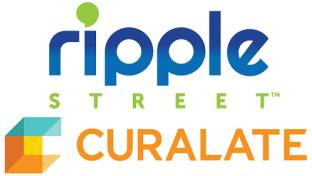 Ripple and Curate logos